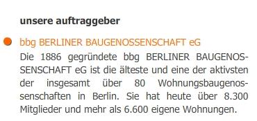 Auftraggeber Bbg Berliner Baugenossenschafteg Teamwohnbalance